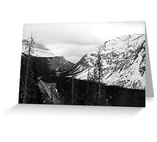Icefields  Parkway - Banff Canada Greeting Card