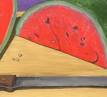 wedge of summer sweetness by bernzweig