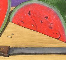 wedge of summer sweetness by bernzweig