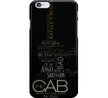 The Cab iPhone Case/Skin