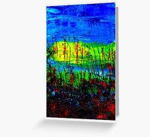 Reedy Water Greeting Card