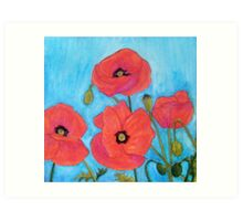 Red Poppies VIII Art Print