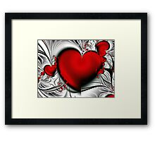 Bleeding Love Framed Print