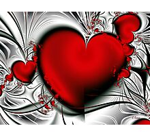 Bleeding Love Photographic Print