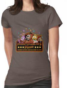 Five Nights at Freddy's Freddy Fazbear's Pizza FNAF logo Womens Fitted T-Shirt