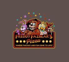 Five Nights at Freddy's Freddy Fazbear's Pizza FNAF logo Unisex T-Shirt