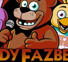 Five Nights at Freddy's Freddy Fazbear's Pizza FNAF logo Sticker