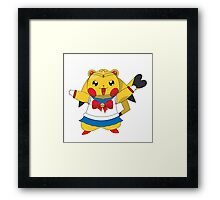 Sailor Pikachu Framed Print