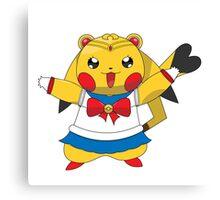 Sailor Pikachu Canvas Print