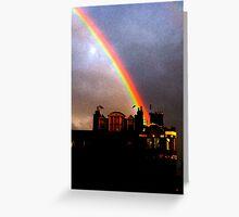 Rainbow in Fitzrovia Greeting Card