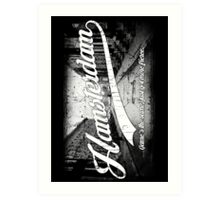 Hamsterdam - Cloud Nine Edition (White) Art Print