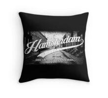 Hamsterdam - Cloud Nine Edition (White) Throw Pillow