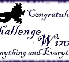 challenge winner banner by Linda Press