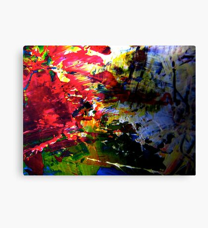 The Tray Canvas Print