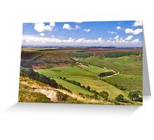 North York Moors Greeting Card