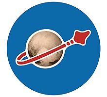 Pluto and Beyond Sticker Photographic Print