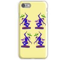 Blue Momma #2 iPhone Case/Skin