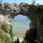 Arch Rock, Mackinac Island, Michigan by WonderlandGlass