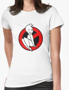 GB-Girl PinUp 1 v2 (Red) Womens Fitted T-Shirt