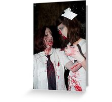 Zombie 16 Greeting Card