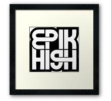 Epik High 2 Framed Print