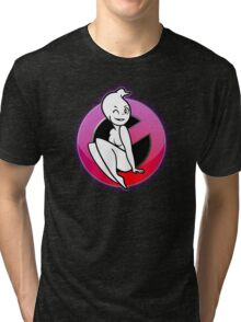The REAL Lady Ghostbusters - Logo Tri-blend T-Shirt