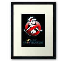 The REAL Lady Ghostbusters - Rule #63 Poster Framed Print