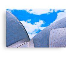 Opera House Double Sail Canvas Print