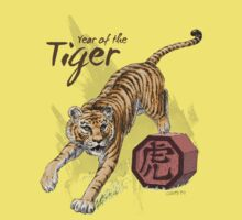 Year of the Tiger by Stephanie Smith Kids Clothes