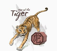 Year of the Tiger by Stephanie Smith Unisex T-Shirt