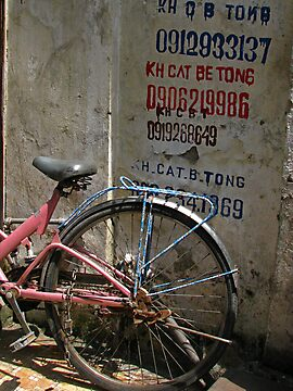Hanoi - Cat Be Tong bike by Maureen Keogh
