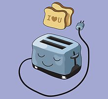 I Love You Toast. by Nathanael Mortensen