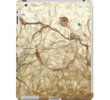 Abstract Draft Oil Painting #4 iPad Case/Skin