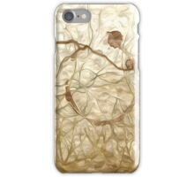 Abstract Draft Oil Painting #4 iPhone Case/Skin