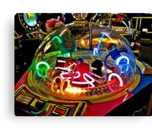 Arcade Game From Outer Space? Canvas Print
