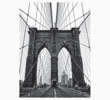 Brooklyn Bridge by Fred Seghetti