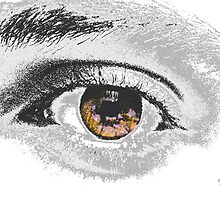 EYE - posterized by Peter Stratton