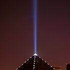 Luxor spotlight, Las Vegas, Nevada by Henry Plumley