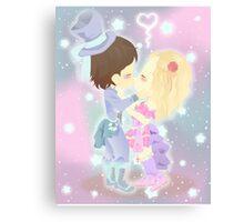 Chibi Love Canvas Print