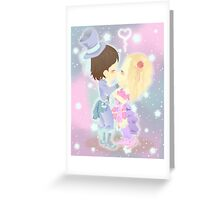 Chibi Love Greeting Card