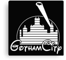 BATMAN DISNEY Gotham City Canvas Print