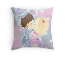 Chibi Love Throw Pillow