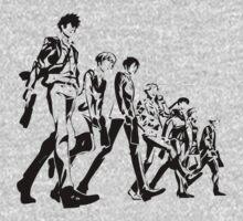 Psycho Pass Unit 1 One Piece - Short Sleeve