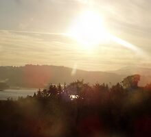 Sunrise over the Columbia River #19 by Dawna Morton