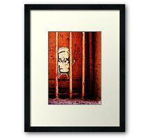 Behind Bars Framed Print