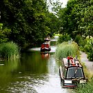 The Grand Union Canal by saxonfenken