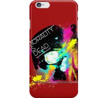 morality is dead iPhone Case/Skin