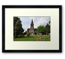 St.Marys - Compton Abbas - UK Framed Print