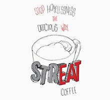 STREAT Coffee on white Unisex T-Shirt