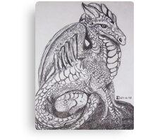 Peaceful Dragon Canvas Print